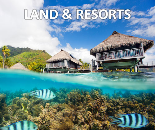 land tours and resorts