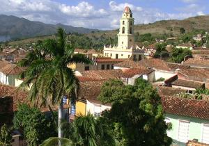 Quaint town of Trinidad, Cuba