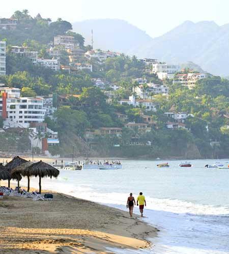 mexico riviera Puerto Vallarta beach