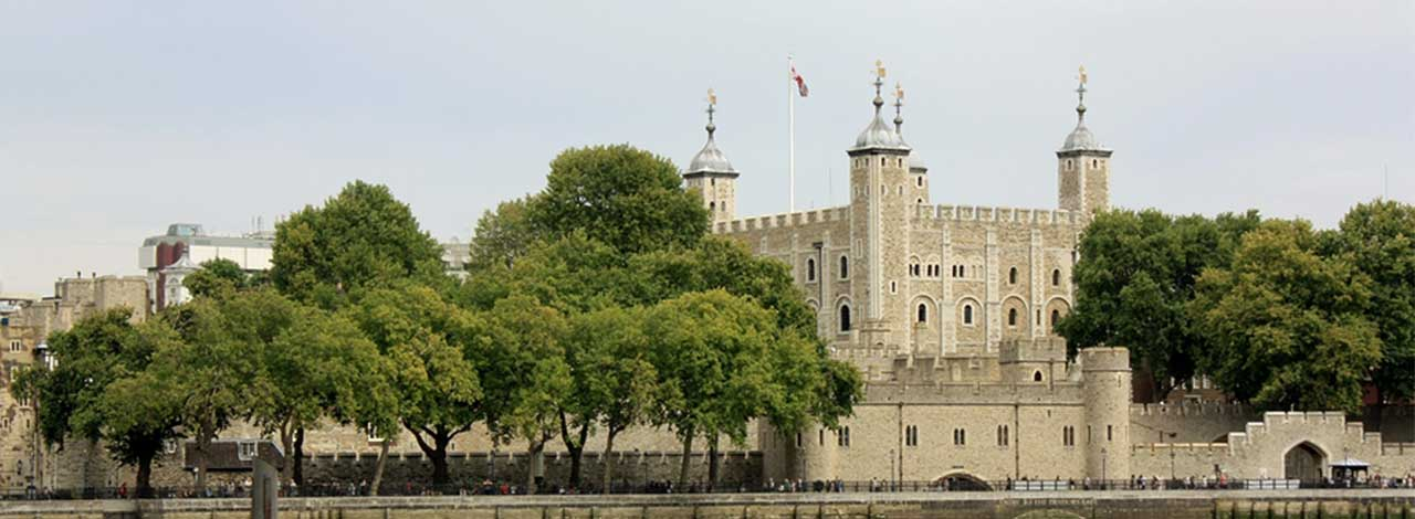 Tower of London - Tower of London from the Thames